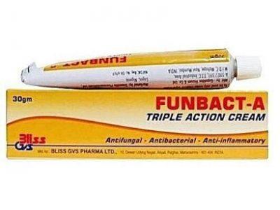 Funbact A Tripple Action Cream -3pcs