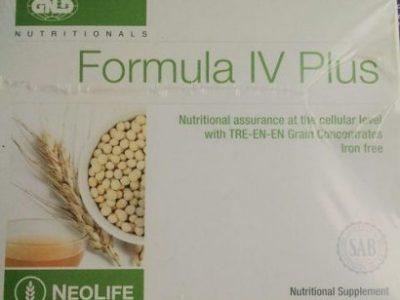 Gnld Formula IV Plus Formula IV With Additional Mineral Support