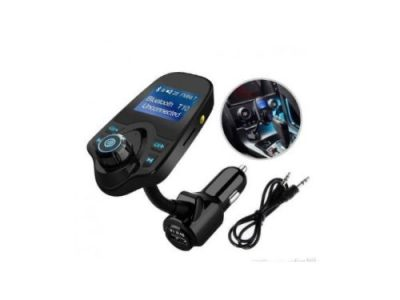T10 Wireless In-Car Bluetooth FM Transmitter For Car