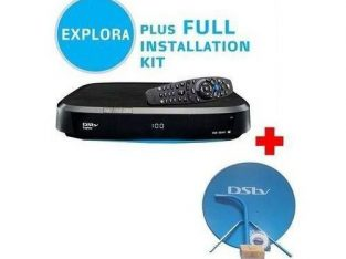 DSTV Access Channels – Dstv Decoder Explora 2 With Installation Kit