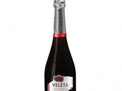 Veleta Sparkle Fruit Wine (Red Grape) -75CL×6