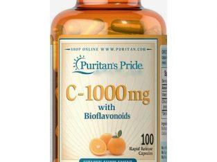 Puritan'S Pride Vitamin C With Bioflavonoids1000mg -100 Capsule Brand: