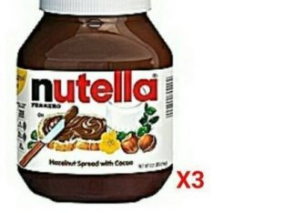 Nutella Chocolate Spread Jam Pack Of 3