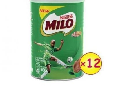 Nestle Milo Tin 500g – Carton X 12