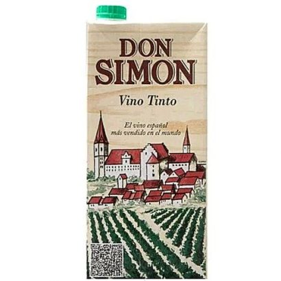 Don Simon Don Simon Red Wine Vino Tinto – 1 Litre Pack X 2