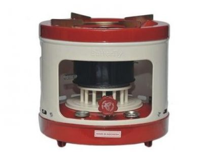 Butterfly Large Kerosene Stove – Red/White