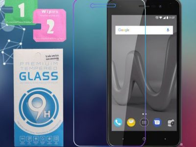 9H 2.5D HD Tempered Glass Screen Protector Guard Film For Wiko Lenny 4 Plus *UK