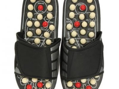 1 Pair Reflexology Sandals Foot Massager Slipper