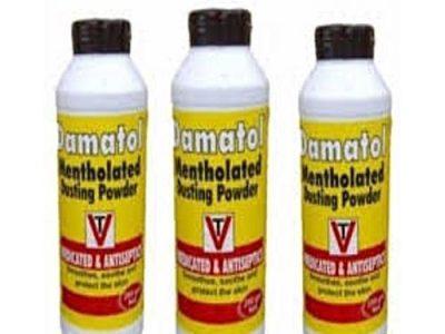 Damatol 3pcs Damatol Mentholated Dusting Powder 200gm