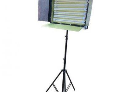 Kino Flo Light – 6 Bulbs + 6 Led Bulbs + Stand