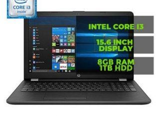 Hp (15) 15.6-Inch Intel Core -i3 2.0GHz 8GB RAM 1TB HDD Windows 10