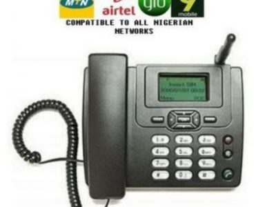 Huawei LATEST Land-Line Table Phone With FM. 3125i Black.