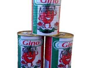 Gino Gino Medium Tin Tomatoes × 3 Tin