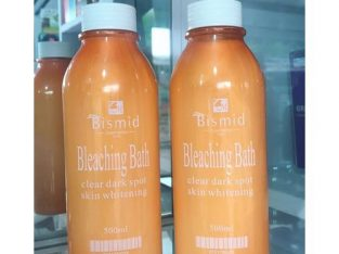 Bismid Cosmetics Bleaching Bath 500ml (1piece)