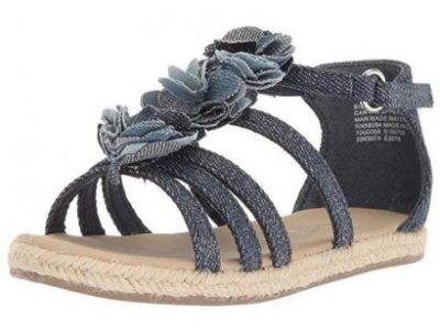Denim Strappy Sandal