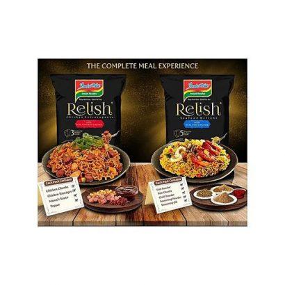 Indomie Relish Chicken Extravaganza X 5