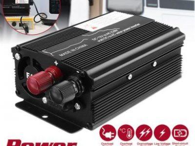 Solar Power Inverter 3000W LED 12v/24V DC To 110v/220V AC Sine Wave Converter