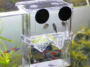 4 In1 Aquarium Fish Fry Breeding Hatchery Incubator Isolation Box Tank Shrimp Large