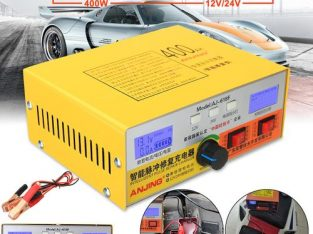 Automatic Intelligent Pulse Repair Type 12V/24V 400AH Car Battery Charger AJ-618