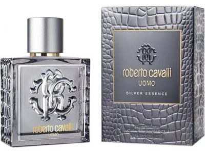 Roberto Cavalli Uomo Silver Essence Eau De Toilette 100ml Perfume For Men