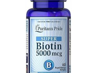 Puritan'S Pride Puritan's Pride Biotin 5,000 Mcg – Super Hair Growth Capsules