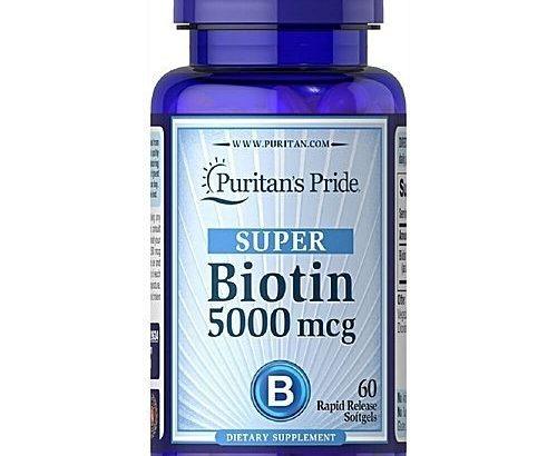 Puritan'S Pride Puritan's Pride Biotin 5,000 Mcg – Super Hair Growth Capsules