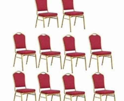 10 Set Of Banquet Chairs