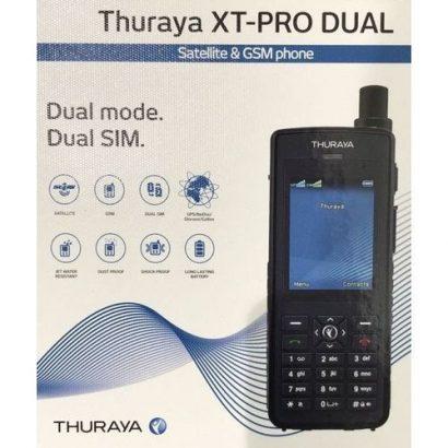 Thuraya XT Pro Dual SIM – Satelite / GSM Simultaneous Dual Mode