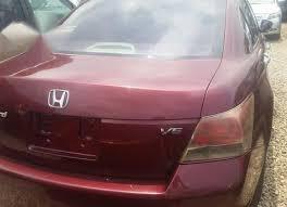 Honda Acord 2008 Red
