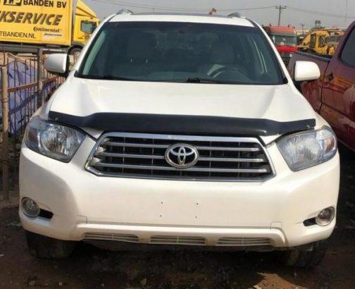 Toyota Highlander 2010 Limited White