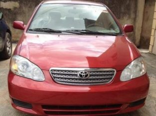 Toyota Corolla 1.8 LE 2008 Red