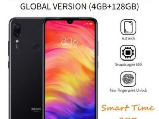 Redmi Note 7 4G Smartphone Global Version 6.3inch 4GB RAM 128GB ROM Snapdragon 660 Octa Core