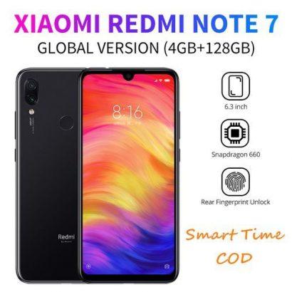 Redmi Note 7 4G Smartphone Global Version 6.3inch 4GB RAM 128GB ROM Snapdragon 660 Octa Core