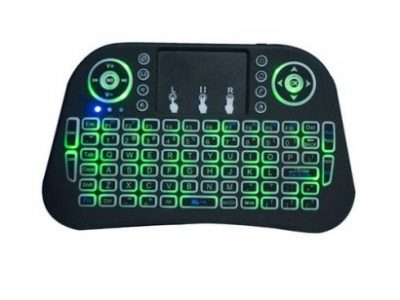 Mini Wireless Keyboard Mouse 2.4GHz 3 Color Touchpad Rechargeble For PC TV BOX Tablet