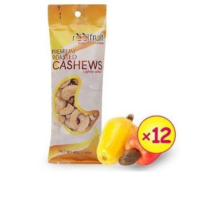 Reelfruit Premium Cashews – Lightly Salted (12pcs X 40g)
