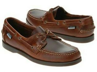 Sebago Men's Brown Boat Shoe