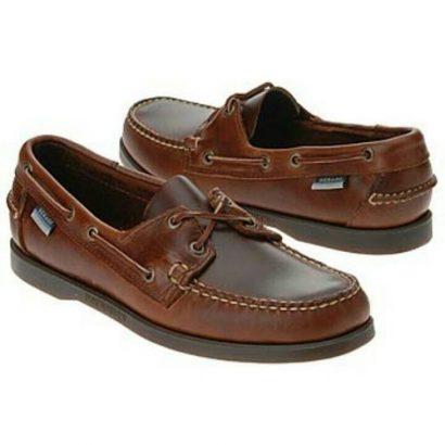 Sebago Men's Brown Boat Shoe