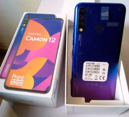 Tecno Camon 12 for sale – How much is Camon 12