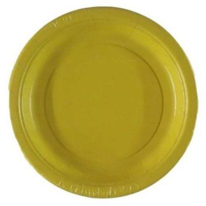25 Pieces Disposable Plates