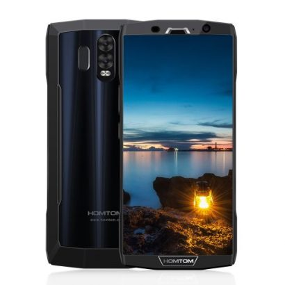 Homtom HT70 4G Phablet 6.0 Inch Android 7.0 Octa Core 4GB RAM 64GB ROM Dual Rear Cameras