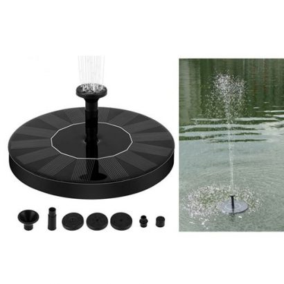 Solar Water Panel Power Fountain Pump Kit Pool Garden Pond Watering Submersible