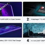 Oppo Realme Q 6.3 Inch Full Screen 4+64gb Octa Core 48mp 5 Camera 4035mah Vooc 20w Fast Charge