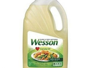 Wesson Canola Vegetable Cooking Oil 4.73 Litres