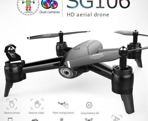 SG106 Optical Flow Dr One With Dual Camera 4K Wide Angle