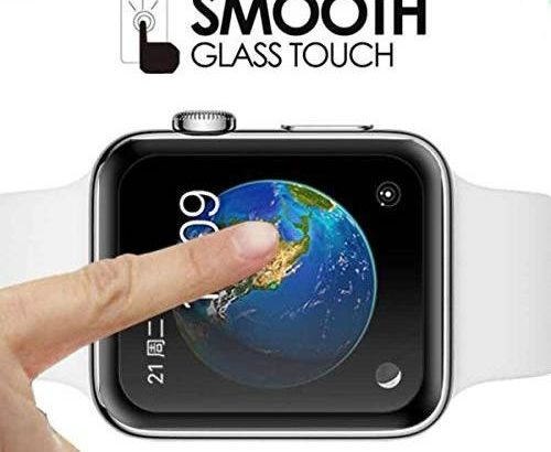 Coteetci Soft Screen Protector For Apple Watch Series 4 (44 MM).