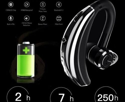 Jabra Jabra Q8 Bluetooth Headset Sport-Black For All Mobile Device.