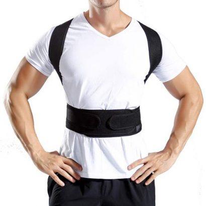 Back Posture Corrector Shoulder Lumbar (Corset) Spine Support Belt Adjustable Adult Corset