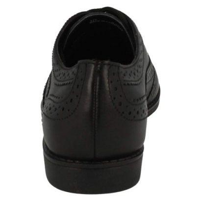 Clarks Clarks Junior Girls School Shoes- Black