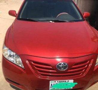 2011 Red Automatic Toyota Camry