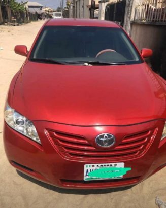 Red Automatic Toyota Camry 2011